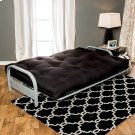 "Plosh 8"" Black Futon Mattress W/ Spring Product Image"