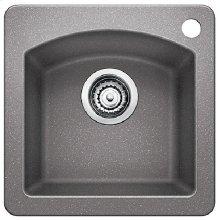 Blanco Diamond Bar Sink - Metallic Gray