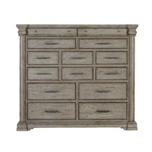 Madison Ridge 14 Drawer Master Chest in Heritage Taupe
