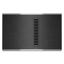 """Jenn-Air® Electric Radiant Downdraft Cooktop with Electronic Touch Control, 36"""" - Stainless Steel"""