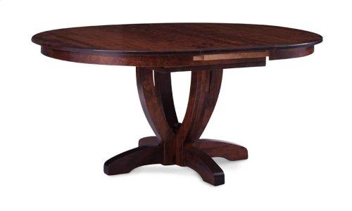 Brookfield Single Pedestal Table, 1 Leaf