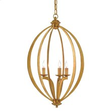 Bella Luna Gold Small Chandelier