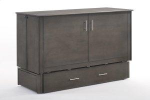 Sagebrush Murphy Cabinet Bed in Stonewash Finish