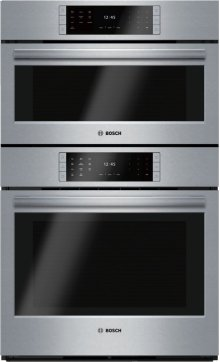 """Benchmark Series, 30"""" Combo, Upper: Steam Convection, Lower: EU Conv, TFT Touch Control"""