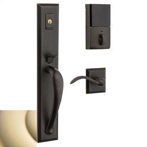 Lifetime Polished Brass Evolved Cody Full Lever Handleset Product Image