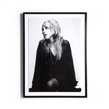 "30""x40"" Size Paper + Black Maple Frame Style Stevie Nicks"