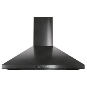 "GE® 30"" Wall-Mount Pyramid Chimney Hood"