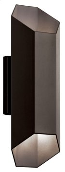 Estella 2 Light LED Wall Light Textured Architectural Bronze Product Image