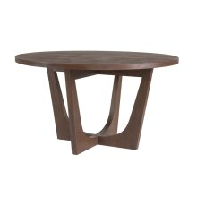 Marrone Brio Round Dining Table