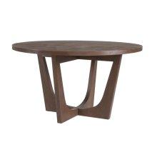 Marrone Brio Round Dining Table