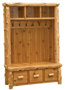 Entry Locker Unit - Natural Cedar