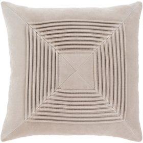 """Akira AKA-006 22"""" x 22"""" Pillow Shell with Down Insert"""