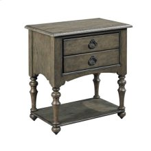 Greyson Tyler Two Drawer Open Nightstand