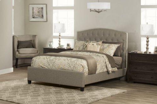 Lila California King Bed - Natural Herringbone