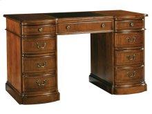 Round Front Pedestal Desk