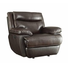 Macpherson Power Motion Brown Recliner