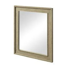 """River View 30"""" Mirror - Toasted Almond"""