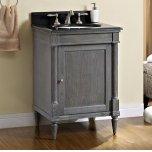 "FAIRMONT DESIGNSRustic Chic 24"" Vanity - Silvered Oak"