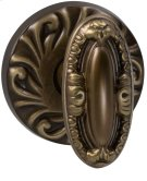 Interior Ornate Knob Latchset in (SB Shaded Bronze, Lacquered) Product Image