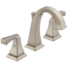 SpotShield Stainless Two Handle Widespread Lavatory Faucet