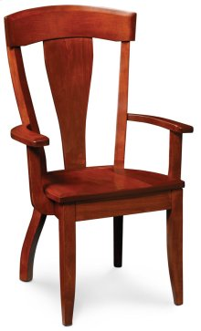 Brookfield Arm Chair, Fabric Cushion Seat
