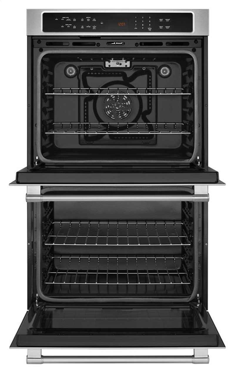 Mew9627fz In Fingerprint Resistant Stainless Steel By Maytag Cape Double Oven Wiring Diagram 27 Inch Wide Wall With True Convection 86 Cu Ft