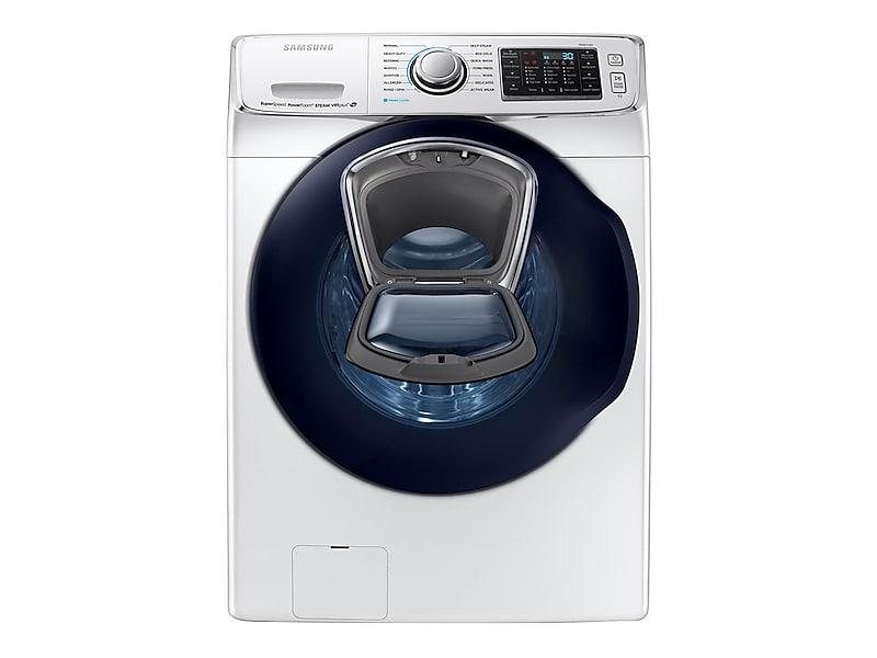 Samsung5.0 Cu. Ft. Addwash™ Front Load Washer In White