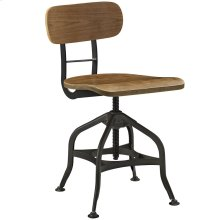Mark Wood Dining Stool in Brown
