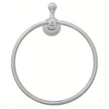 Chrome Opulence® Towel Ring