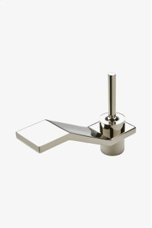 Formwork Low Profile One Hole Deck Mounted Lavatory Faucet with Metal Joystick Handle STYLE: FMLS50