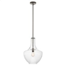 Everly Collection Everly - 1 Light Pendant - Olde Bronze