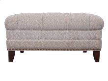 Ivory Cocktail Ottoman