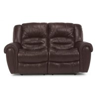 Crosstown Power Reclining Loveseat with Power Headrests Product Image