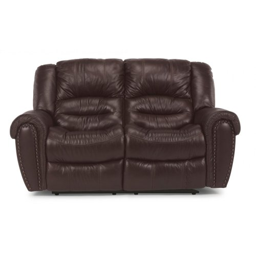 Crosstown Power Reclining Loveseat with Power Headrests