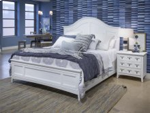 Complete Cal.King Arched Bed with Storage Rails