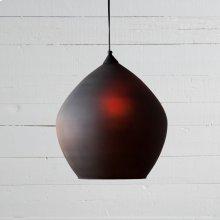 Charcoal Glass Finish Vintage Harman Hanging Pendant