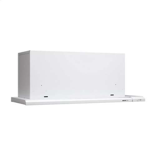 "36"" 300 CFM White Slide Out Range Hood"