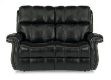 Challenger Leather Power Reclining Loveseat