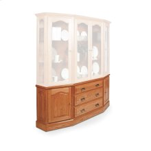 Classic Canted Hutch Base, Classic Canted Hutch Base, 63""