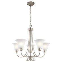 Bixler Collection Bixler 5 Light Chandelier NI