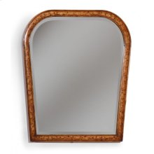 Art Nouveau Floral Mirror (Plain Mirror Glass)