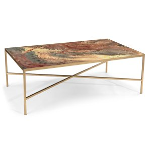 JFD In By John Richard In Augusta GA Copper Stars Coffee Table - John richard coffee table