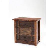 Heritage Oakland 3 Drawer Deluxe Dresser