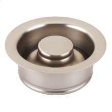 Kitchen Drain Brushed Nickel Finish