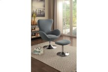 Swivel Chair with Ottoman