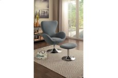 Swivel Chair with Ottoman Product Image