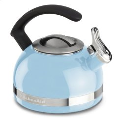 2.0-Quart Stove Top Kettle with C Handle - Cameo Blue