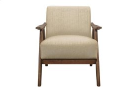 Accent Chair, Light Brown