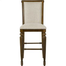 Amalie Bay Upholstered Pub Stool