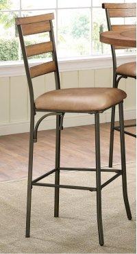Avery Wood Plank Barstool Product Image